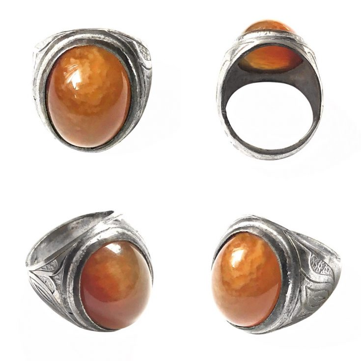 Indonesian Carnelian Ring