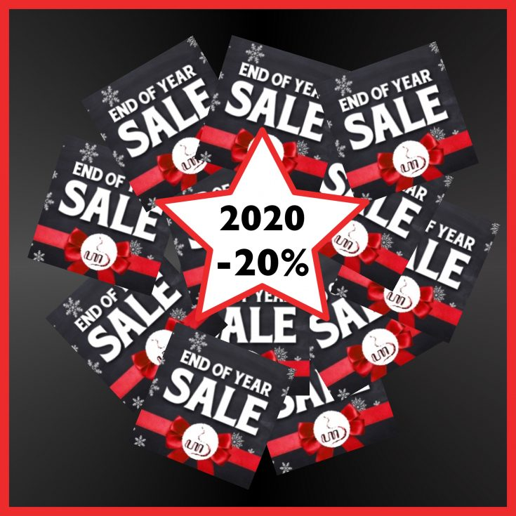 2020 end of year sale