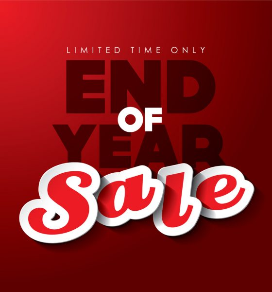 End of Year Sale 2017