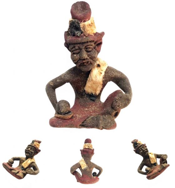 Herbal Por Gae Ruesi Hermit Effigy foreseeing Danger and predicting Lucky Strikes