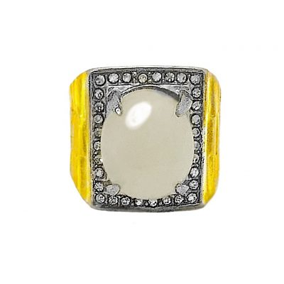Magic Moonstone Jewel Ring, possessing Magical Qualities, ensuring Successful Progress