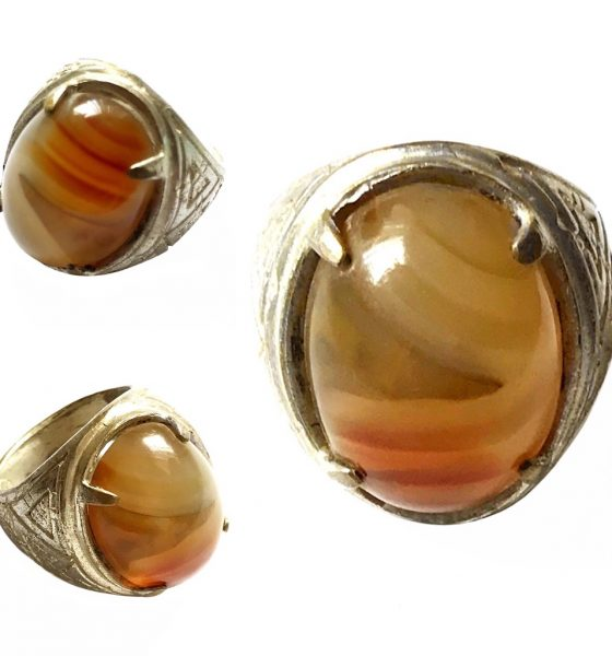 Magically Blessed Agate Gemstone bringing Emotional Stability