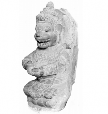 Hanuman in East Javanese Art
