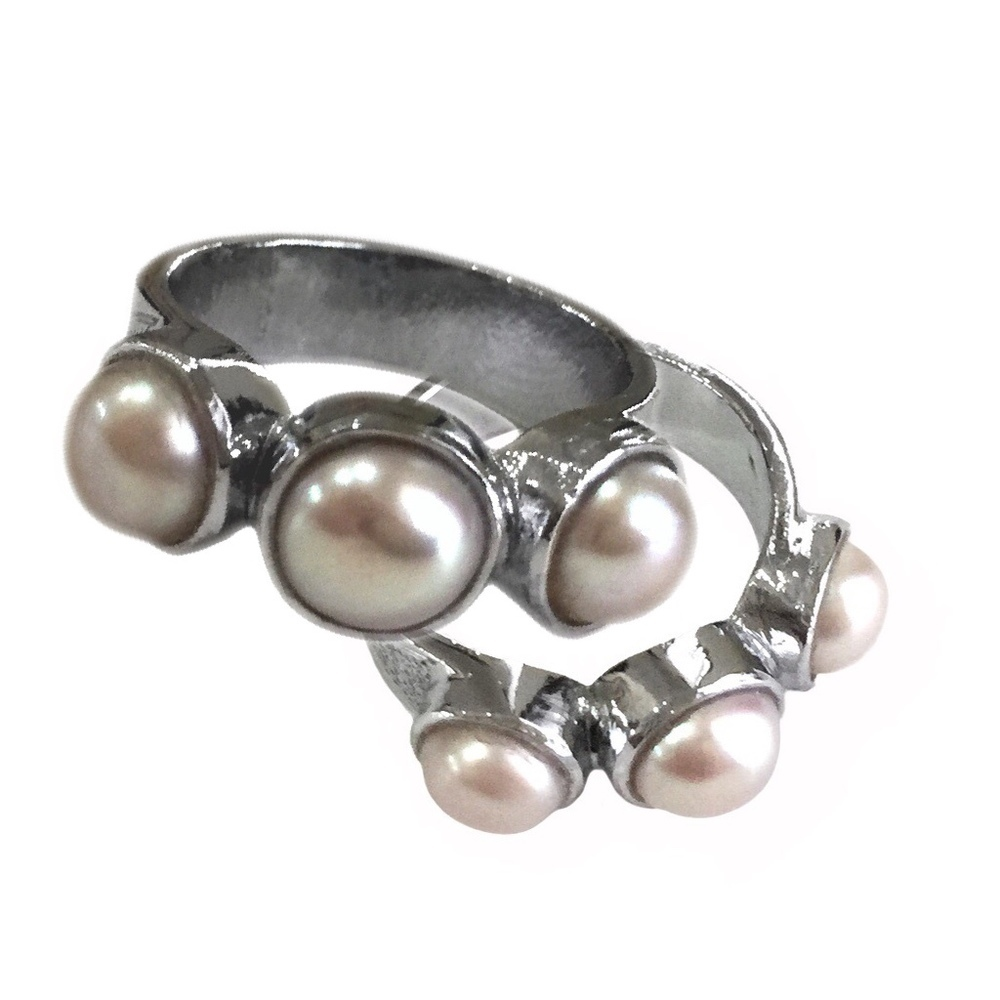 Indonesian Mustika Pearl Talisman Ring