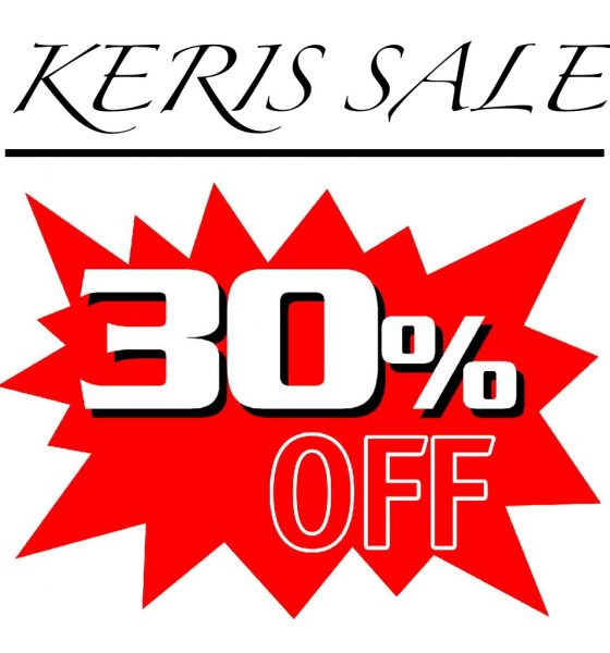 Keris Sale!