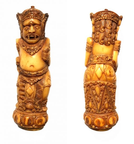 Benevolent Bali Bhuta Demon Spirit Bone Effigy