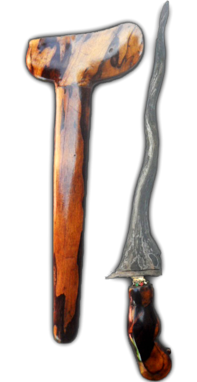 Keris Mojopahit Wos Wutah for Spiritual Enhancement