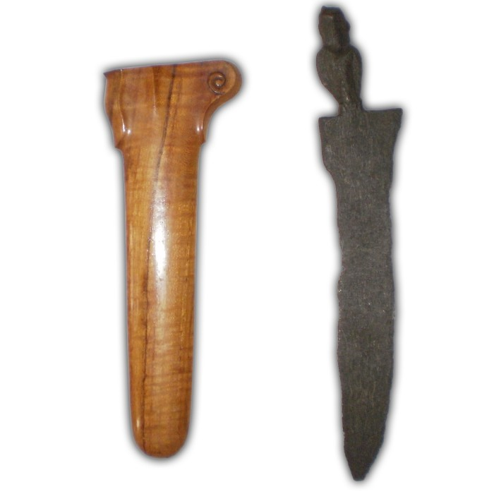 Original Keris Sajen Sepuh from the Legendary Majapahit Era