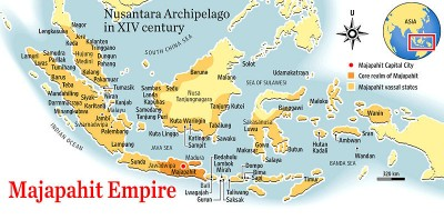 Map of Majapahit