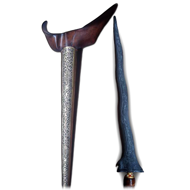 Keris Pandawa Lare Luk 5 from the Tangguh Segaluh Era (12th Century)