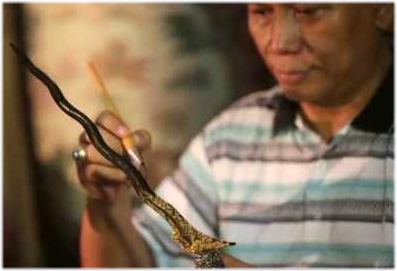 The Keris as an Object of Investment