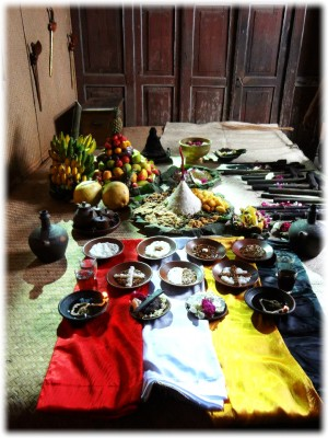 Traditional Keris Offerings