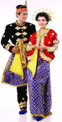 Traditional Wedding Costume of Bima