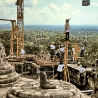 Reconstruction of the Borobudur Temple