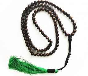 Islamic Rosary made from Gold Akar Bahar Deep-Sea Coral Prayer Beads for Rembrance of Allah