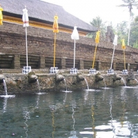 Holy Water in East-Java and Bali